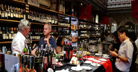 PAST EVENT - Chilean Wine Tasting at Warehouse D1
