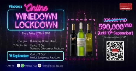 [Vinoteca Online] Winedown Lockdown VN